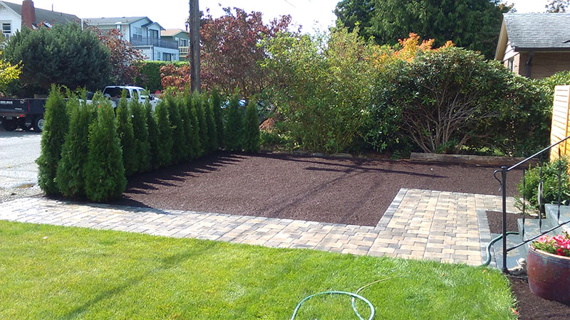 Landscaping Rocks Tacoma : Des moines patio issaquah tree lawn installation